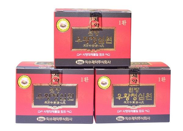 Kiện não hoàn Ksu Hàn Quốc hộp đỏ