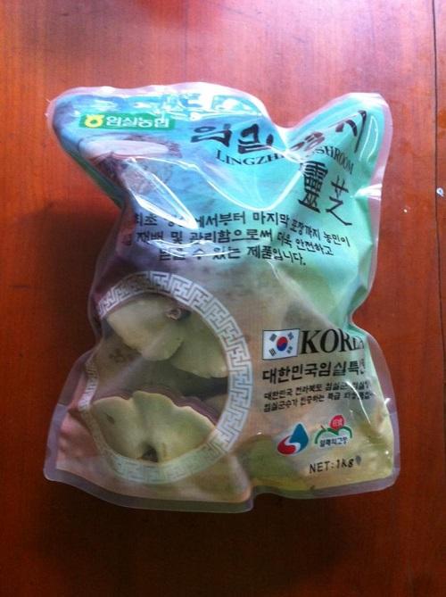 Nấm linh chi Imsil Hàn Quốc giá 500 nghìn/kg